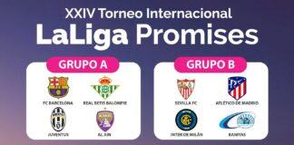 Grupos LaLiga Promises 2019