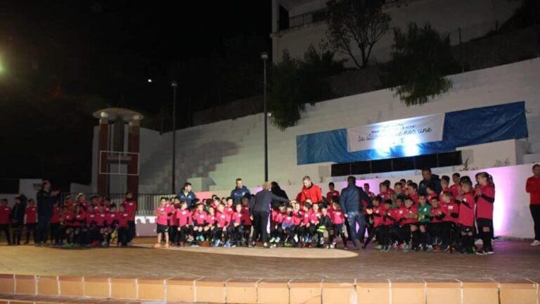 UD Mancomunidad La Hoya presenta los entrenadores de su escuela