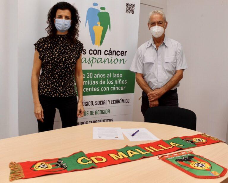 El CD Malilla firma un convenio de colaboración con la Asociación de Padres de Niños con Cáncer de la Comunitat Valenciana