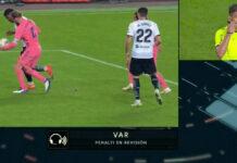 Penalty Ramos - Valencia CF - Real Madrid