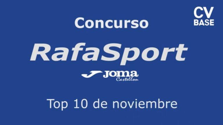 Ya podéis votar por la mejor jugada en el 1º Concurso RafaSport JOMA CS de la temporada
