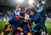 Celebración_Copa del Rey_cuartos Levante UD