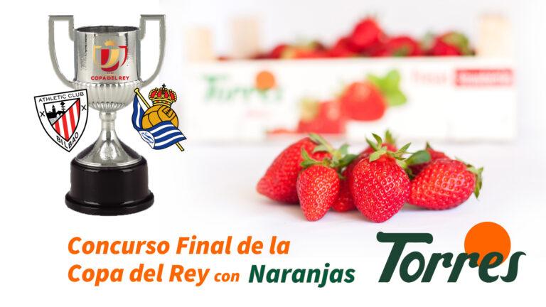 Una caja de fresas (un kilo) y una piña, el premio más sabroso con la final de la Copa del Rey
