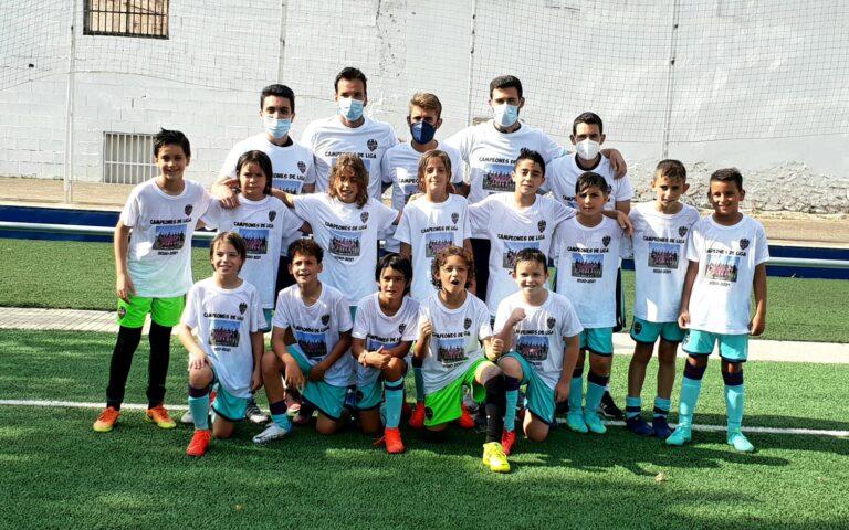 El Benjamín A del Levante UD pasa a octavos en la Iscar Cup