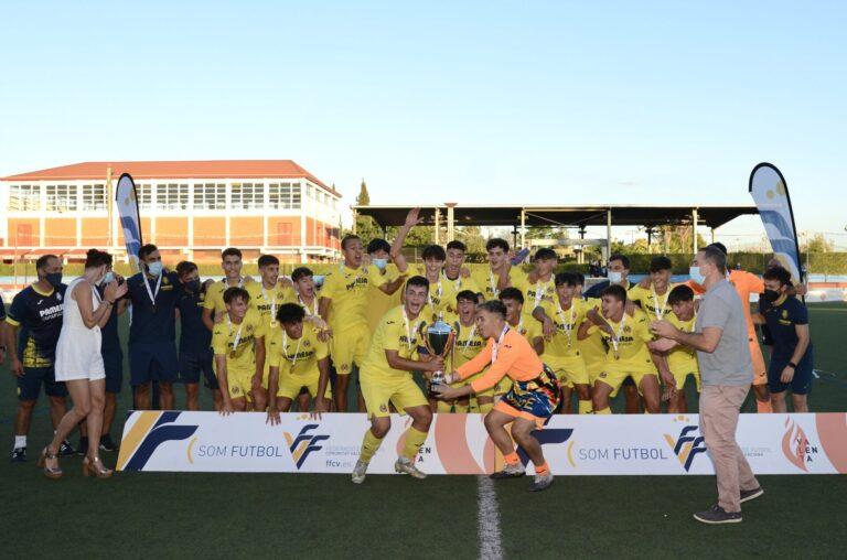 El Villarreal CF Cadete se alza con el título de Campeón de la Liga Autonómica