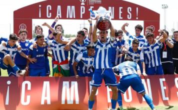 Deportivo de la Coruña Campeón Copa de Campeones Juveinil