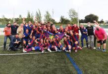Juvenil Barça 2020/21 Campeón