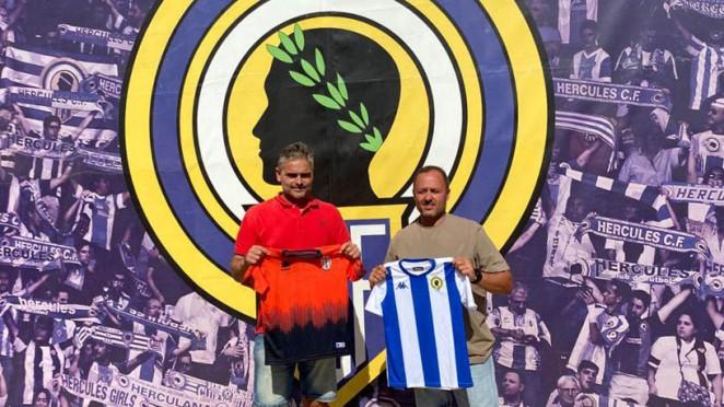 Acuerdo colaboración Hércules CF y CF Arena Alicante