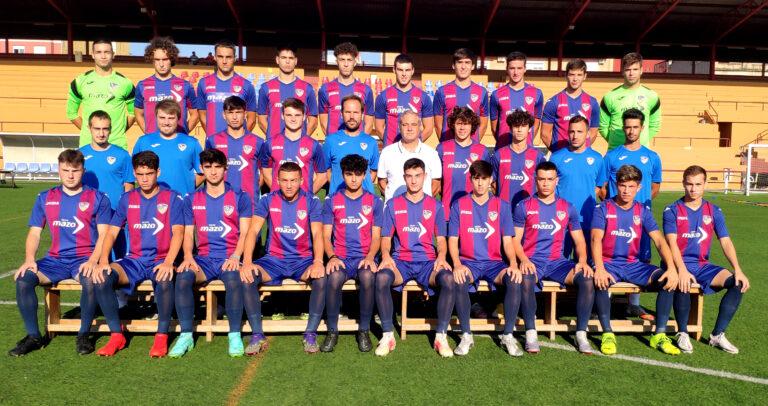 Plantilla de la UD Alzira en su cuarta temporada en División de Honor