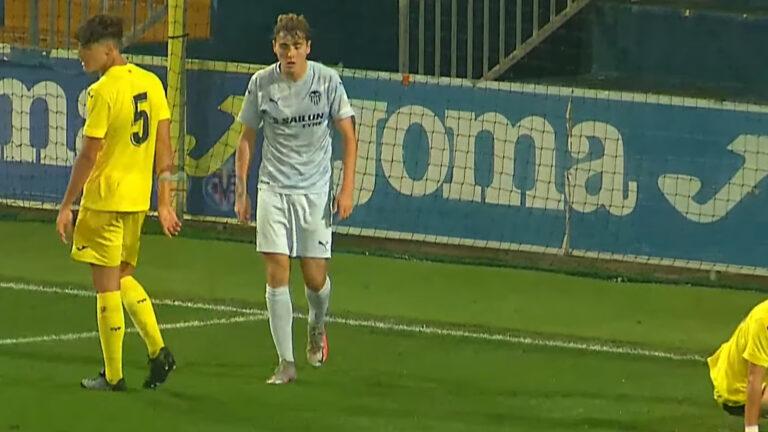 Lorenzo Sánchez, juvenil del Valencia CF, ficha por el Real Madrid