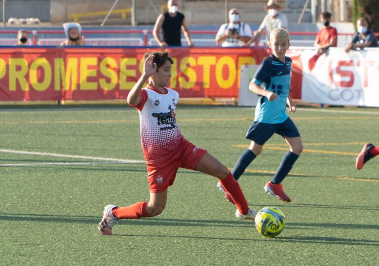 Valencia CF y Villarreal CF se clasifican para las semifinales del COTIF Alevín