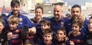Gavi Barça Torneo Falles