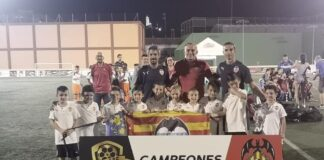 Campeón Prebenjamín 1º año 2019 TORCAF