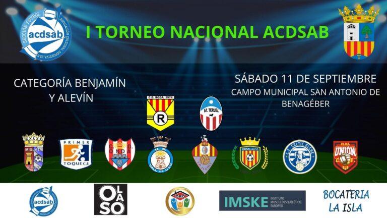 I Torneo Nacional ACDSAB en categorías Alevín y Benjamín