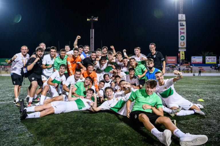 El triunfo del Elche CF confirma el COTIF más autonómico con victorias de equipos de las tres provincias de la Comunitat