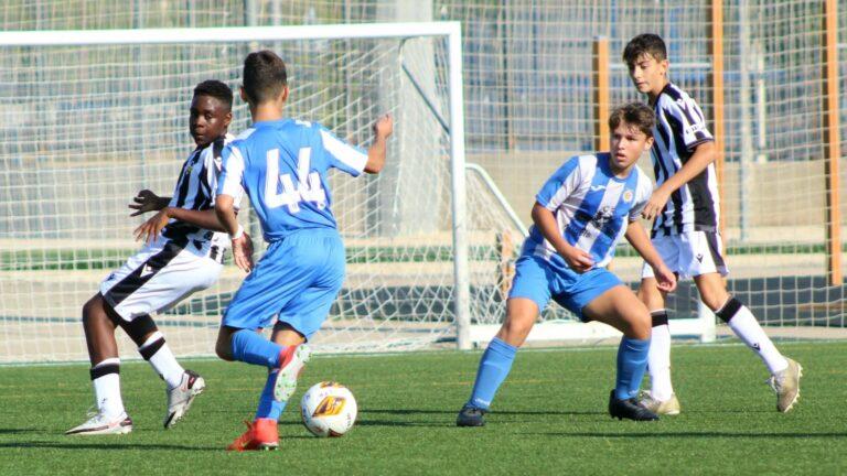 Valencia CF y Villarreal CF muestran sus credenciales en Autonómica Infantil