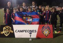 Levante UD Alevín Campeón Torcaf F8