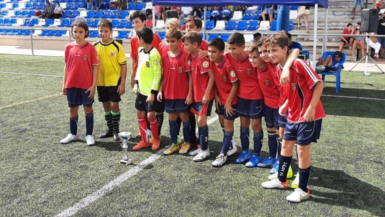 Mislata UF,  campeón en el I Torneo Nacional ACDSAB categoría Alevín